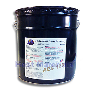 AES-100 Flexible Epoxy Roof Coating, LIGHT TAN (1G) - Advanced Epoxy Systems AES-100, Class-A Fire Rated, 2-part Flexible Epoxy Roof Coating System, 83% Solids, LIGHT TAN Color. 1-Gallon Kit. Price/Kit. (Flammable when liquid, Ground or truck shipment only).