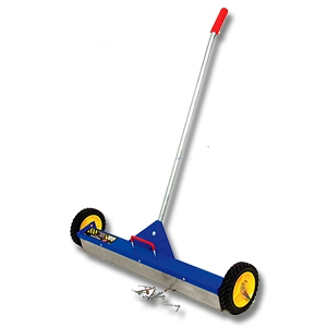 AJC Rolling Magnetic Sweeper 30 in., w/ release (ground shipment only) - AJC #070-RMS 30 in. WIDE ROLLING MAGNETIC SWEEPER WITH LOAD RELEASE (ground shipment only).