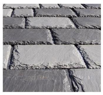 Inspire Aledora Slate Field 12x18 Tiles Cl A Specify Color Bundle