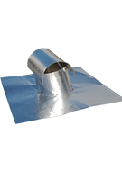 10 in. T-Top Aluminum Roof Vent, Soft Aluminum FHA Base
