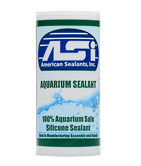 Asi Aquarium Sealant Bulk 40 Lb Pail Specify Color
