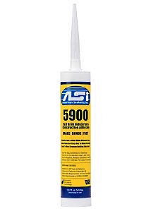 ASI 5900 Fast Grab Construction Adhesive, White, 10.2 oz - ASI 5900 Fast Grab Construction Adhesive, White. Very quick curing One-Part Hybrid Polyester Adhesive. 10.2 oz. Tube. Price/Tube. (12 tubes/case, order full cases for added discounts)