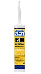 ASI 5900 Fast Grab Construction Adhesive, White, 10.2 oz