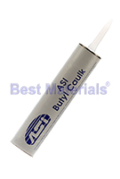 ASI Butyl Caulk Sealant, 10.3 Oz., BLACK