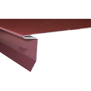 CastleTop Drip Edge, Specify COLOR - CastleTop HCA 112, Drip Edge. 1-1/2 Face X 13-3/4 Top x 12