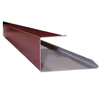 CastleTop Channel Trim, for Sidewall, Specify COLOR - CastleTop HCA 200, Channel Trim for Sidewall. 2-1/2 x 1-1/4 x 12