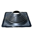 #9 Black EPDM Square-Base Flashing ICC  / 35-Year