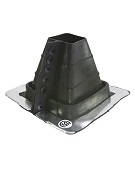 #1 Master Flash Square-Tube/Post Retrofit Flashing, 2.5 - 4 in.