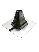 #2 Master Flash Square-Tube/Post Retrofit Flashing, 2-1/4 - 5 in.