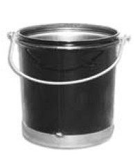 6 Gallon Asphalt Service Bucket - 6-Gallon Hot Asphalt Service Bucket. Features 24-Gauge Steel with Reinforced Bottom and Rolled Rim. Meets OSHA Safety Specificaitons for Carrying Elevated Temperature Materials. Price/Each. (special order; leadtime 2-5 days)