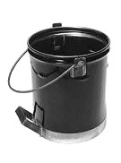 5 Gallon Steel Asphalt Service Bucket with Side Handle