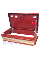 30 x 54 Hurricane Rated Roof Hatch, Stair/Ship RED Finish Steel