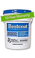 Bestcoat™ Waterproof Textured Masonry Coating SPECIFY COLOR (1G)