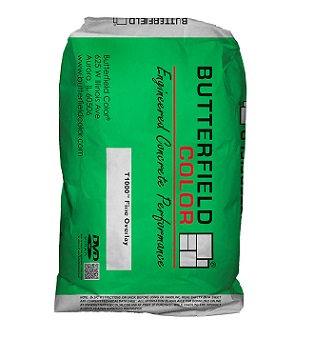 Stampable Concrete Overlay (Fine). Cement White. 55 LB/Bag. - Concrete Surface Texture T1000 Overlay Cement, Fine. A spray / trowel grade overlay for Decorative Concrete, Stamping and Resurfacing Projects. FINE WHITE. 55 Lb. Bag. Price/Bag. (shipping lead time 2 weeks; aka Butterfield 619288)