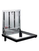 24 X 24 inch Bilco J-1AL, Floor Access Door, Aluminum, Channel Frame