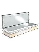 30 x 96 Bilco L-50-TB Thermally Broken Roof Hatch, Aluminum