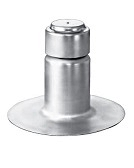 Aluminum Insulvent One-Way Breather Vent