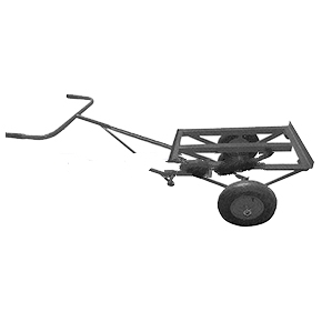 Cleasby C00800, 2-Wheel Insulation Cart w/18x8.5 Tires - Cleasby C00800, 2-Wheel Insulation Cart with 18 X 8.50 Ties. Price/Each. (special sale: quantity limited to 1)
