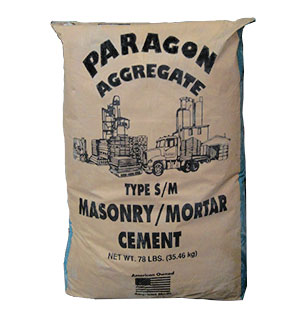 Masonry / Mortar Cement, Type S/M, 78 lb. - Masonry / Mortar Cement, Type S/M, Grey Color. Not a Mix. 78 lb/Bag. Price/Bag.  (special sale, inventory reduction, quantity limited)