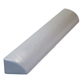 Chemcurb 12 in. Straight Piece (1) - Chemcurb 12-inch Straight Piece, Solid Polyester-Urethane. (F1303P). Price/Each.