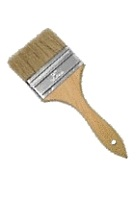 3 in. Double-Thick Natural Bristle Paint Brush / Chip Brush