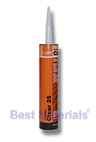 Clear 25 (MasterSeal NP 125) , Clear Structural Adhesive Sealant, 10.2 Oz (1)