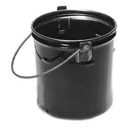 6 Gallon Asphalt Service Bucket - Cleasby #B03300, 6-Gallon Hot Asphalt Service Bucket. Features 24-Gauge Steel , reinforced handle and Rolled Rim. Price/Each. (special order; leadtime 2-5 days)
