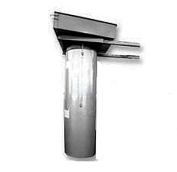 30 in. X 4 Foot Interconnecting Roofers Trash Chute Section - Cleasby # C02300 Roofers Trash Chute Section, 30 inch diameter X 4 Foot. The  interconnect to make longer chutes. Price/Each. (shipping leadtime 2-3 days)