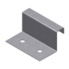 Fixed Clip, 1-1/8 in. tall, 2 in. long, 7/16 in. wide Top. 1000/Box