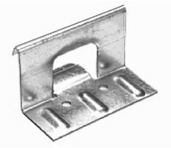 1-3/4 in. Snap-Lock Panel Clips, 3-1/2 Long, 2-Hole, 18 Ga Galv. (250) - 1-3/4 in. Snap-Lock Panel Clips M0407, 2-hole, 3-1/2 in. wide 1.827 High, 18 Gauge G90 Galvanized Steel. 250/Box. Price/Box. (aka # 728734)