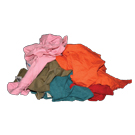 Colored Mixed Rags (50#)
