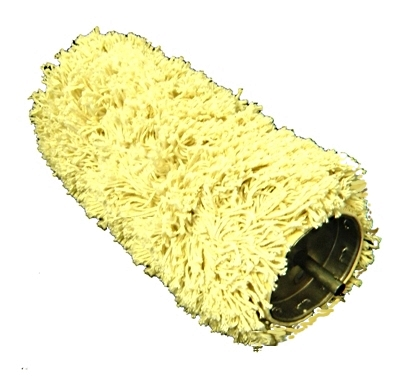 12 inch Wide Cotton Nap Roller Mop, 3/4 Nap (case/12) - OBSOLETE, OUT OF PRODUCTION --12-inch Wide Cotton Nap Roller Mop, 3/4 inch Cotton Nap, with Pin Ends. Used with # 58012 Roller Mop Frame. 12 Mops/Case. Price/Case. (ship leadtime 1-2 business days)