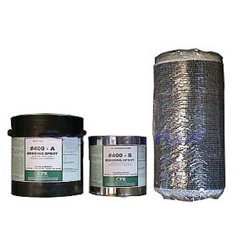 Carbon Fiber Fabric Reinforced Concrete Repair Kit, 1 x 100 ft. - Carbon Beam, Carbon Fiber Fabric Reinforced Concrete Repair Kit. Includes 12 in. x 100 ft. roll carbon fiber fabric, three 1-1/2 gallon sets (A+B) of the #500 Liquid Epoxy Bonding Resin. Price/Kit. (UPS ground only, 2-3 business day shipping lead time)