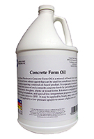 CSP Concrete Form Release Oil, 1-Gallon