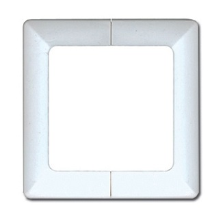Deck Bracket Cover, 4x4, WHITE color (box/48) - Deck Bracket 4x4 COVERS, WHITE Color molded heavy duty PVC plastic. 48/Box. Price/Box. (cover only, does not include base bracket; shipping leadtime 2-5 days)