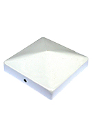 Cap 44, Deck/Fence Post Top Cover, 4x4, White color (1)