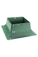 Deck Post Base Bracket, KHAKI Color (25)