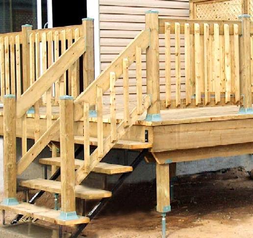 Deck Hardware Deck Coatings And Wood Deck Railing Best