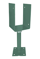 Deck Post/Base Adjustable Supports, 8-5/8 to 11 inch, Khaki (12)