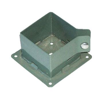 Deck Post Base Brackets 4x4 Khaki Color 10