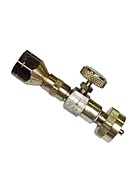 Disposable Propane Cylinder Adaptor with Shut Off Valve