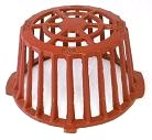 12 in. Cast Iron Replacement Drain Dome / Strainer