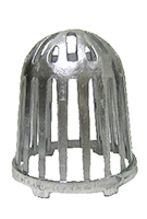 5 in. Cast Al. Replacement Drain Dome / Strainer