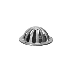 5 in. Zurn Z181 Replacement Dome, Bronze - 4-15/16 inch Zurn Replacement Drain Dome for Z181 Cornice Drain / Z352 Planter Drain. Price/Each. (shipping leadtime 7-10 business days)