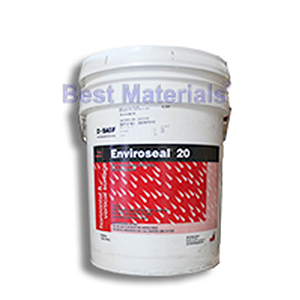 Enviroseal 20 Concrete/Masonry Silane Penetrating Sealer (5G) - Enviroseal® 20, clear, water-based, 20% silane  penetrating sealer / water repellant. For stucco, concrete, brick and masonry. 5-Gallon Pail. Price/Pail.