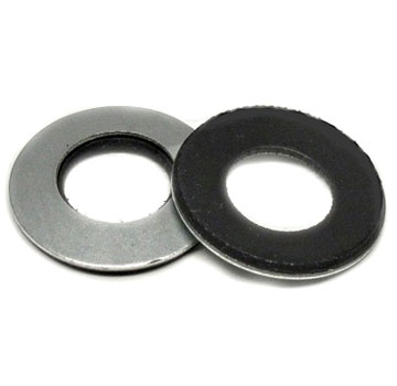 8 x 1/2 in. 304 Stainless Steel EPDM Bonded Sealing Washer, 1000