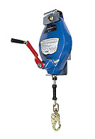 60 ft. 3-Way Recovery Unit SRL, Galv. Cable, Swivel Snap Hook