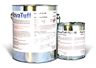 NovaTuff FC-200 Protective Epoxy Floor Coating, Nickel-Gray Color, 1G