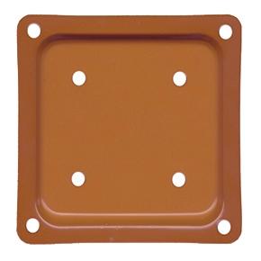 Deck Rail Post Brackets 4x4 Cedar Color 50