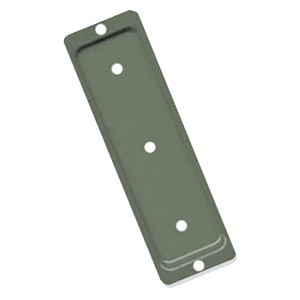 Deck Rail / Post End Brackets, 2x6, KHAKI Color (100) - Deck / Fence Railing End / Base Brackets (Pylex Fixplak 26), KHAKI Color. Powder coated 1.4mm (0.055) steel. Fits 2x6 Wood (about 1-1/2 x 5-1/2). 100/Box. Price/Box. (special order; shipping leadtime 2-4 days; partial boxes non-returnable)